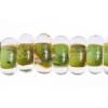 Lamp Bead Donut 50pc 9mm Multi Green